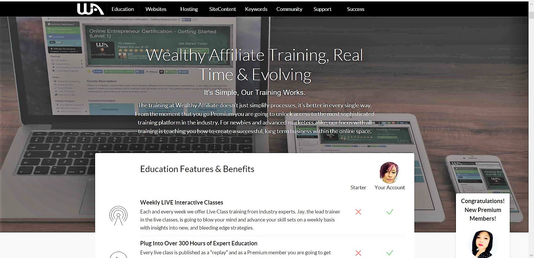 100% honest Revirw why Wealthy Affilite Works 2018