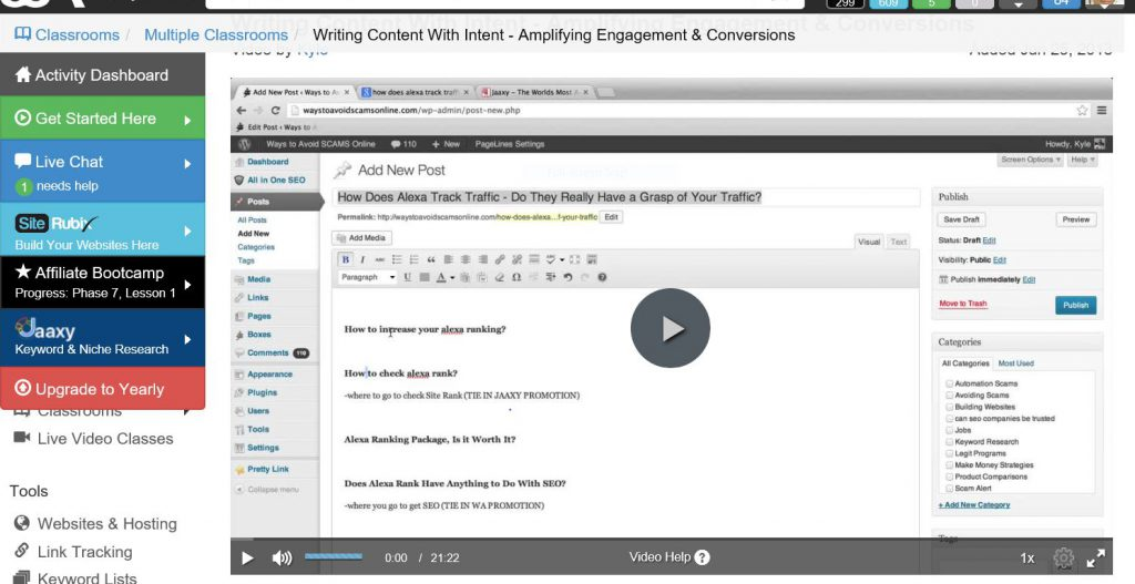 Catapulting your audience. Writing content with Intent