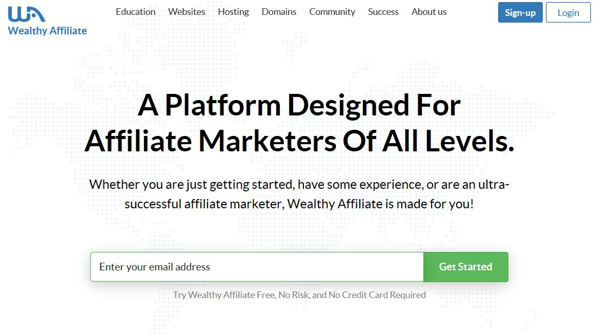 Wealthy Affiliate Sign Up Login