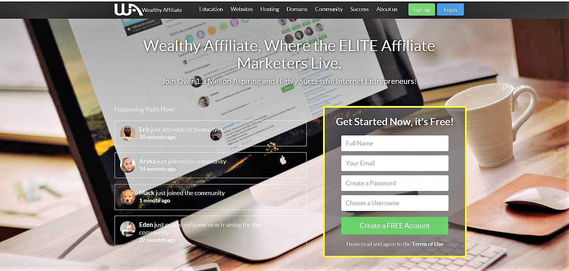 Join Wealthy Affiliate Its Free
