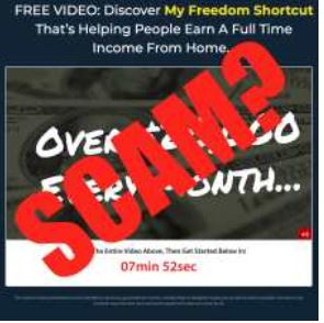 Freedom Shortcut Scam Review.