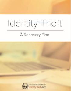 Free PDF GUIDE Identity Theft Recovery Guide.