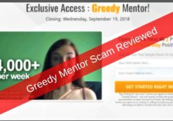 Greedy Mentor Scam Reviewed