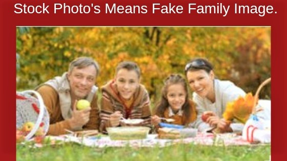 Fake Creator Using stock Images.