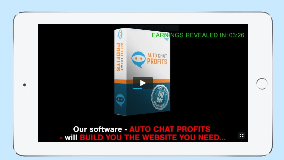 Auto Chat Profits Software. Not recommended.