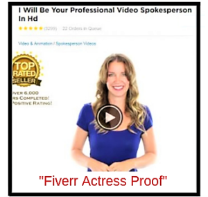 Fiverr Actress Proof! Meaghan Harper Scam review.