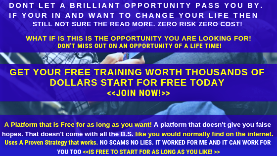 Free Affiliate Marketing Training Worth Thousands of Dollars Free to join Today.