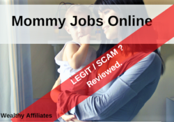 Mommyjobsonline.com Scam reviewed superwealthyaffiliates.com Recommended A Big NO