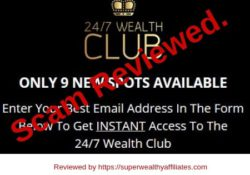 247 Wealthy Club Scam review