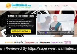 Gold Opinions Scam Reviewed By https://superwealthyaffiliates.com