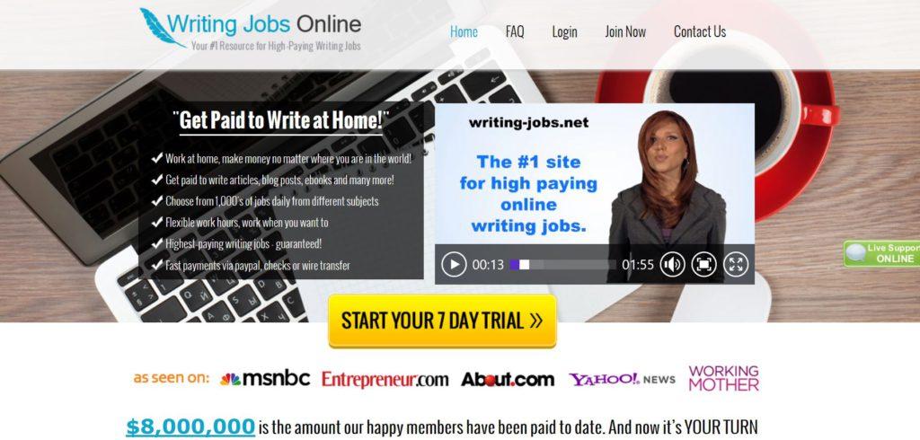Writing Jobs Online Scam Reviewed.