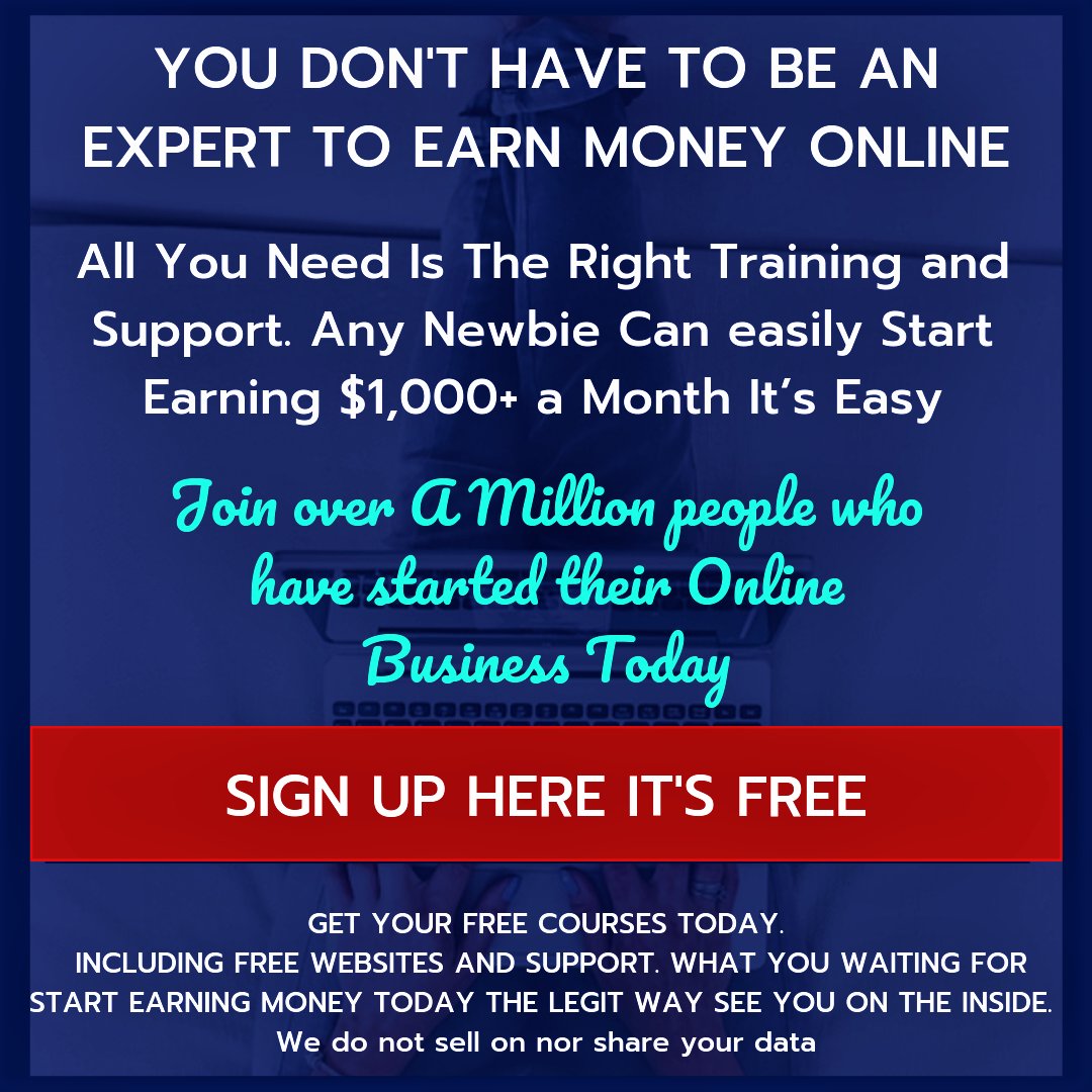 Sign up to Wealthy Affiliate and claim your Free Training.