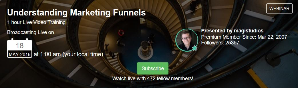 Understanding Marketing Funnels. Training with Jay