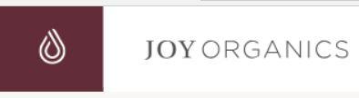 Join Joy Organics affiliate progamme today