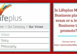 Lifeplus Business Plan is it a Scam?