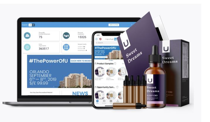 Revital U Brand Influencer Newest Products for August 2019