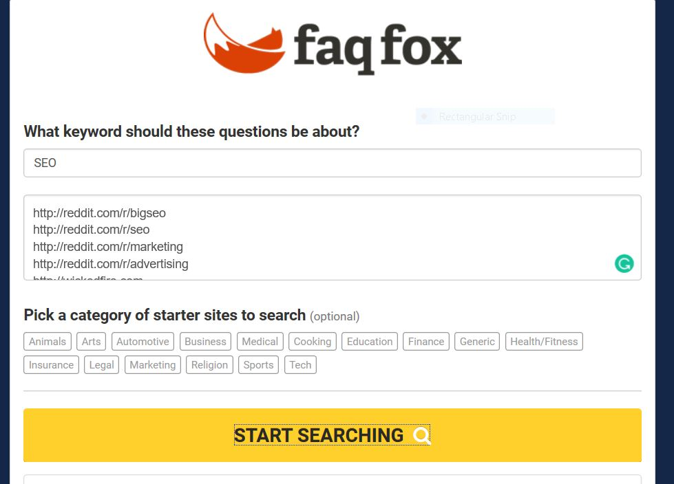 Faq Fox find the questions people are asking