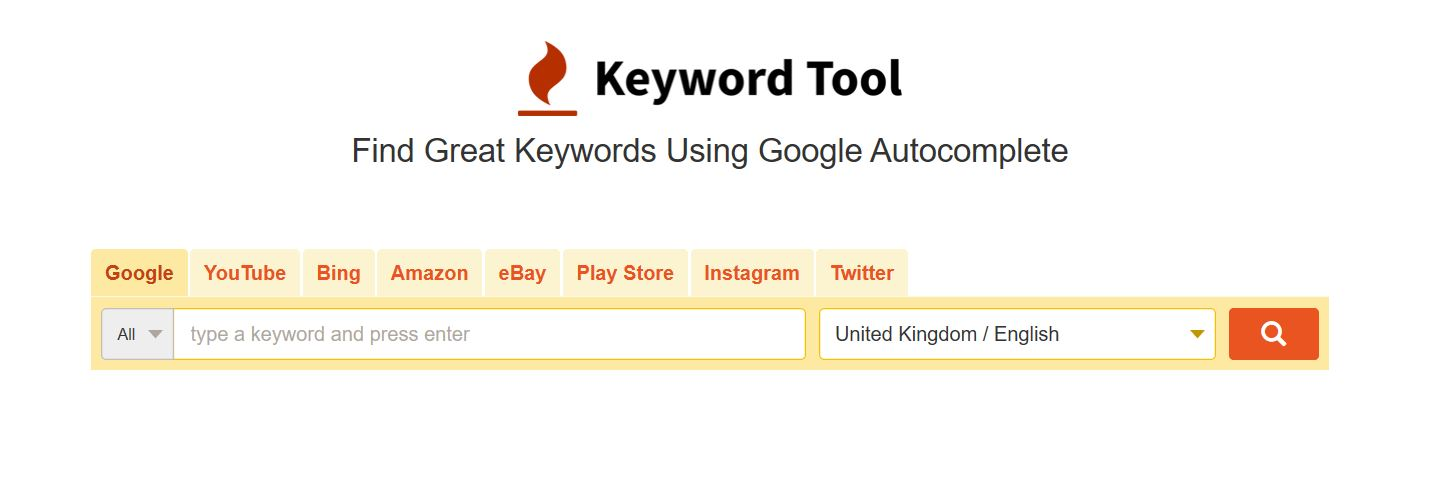 Keyword Tool Planner