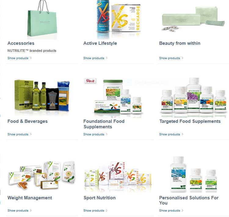 Amways Products