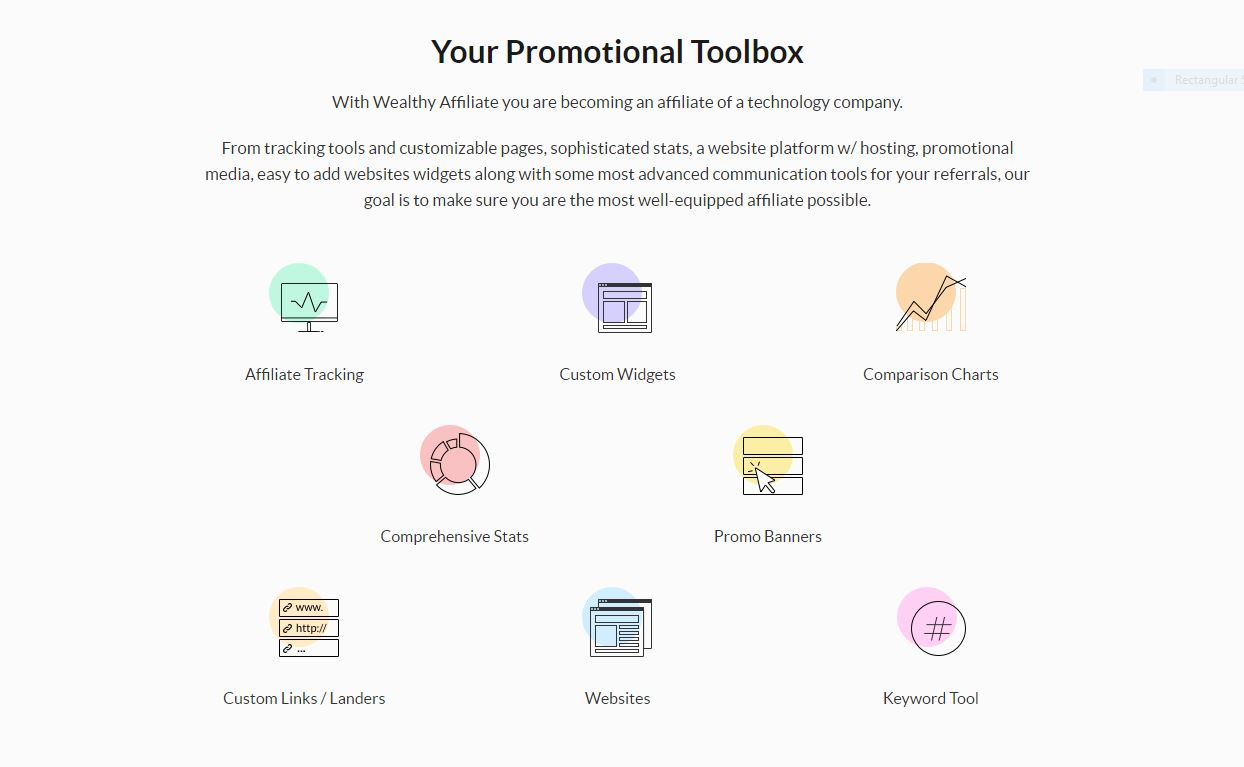 Wealthy-Affiliate-Promo-Tools